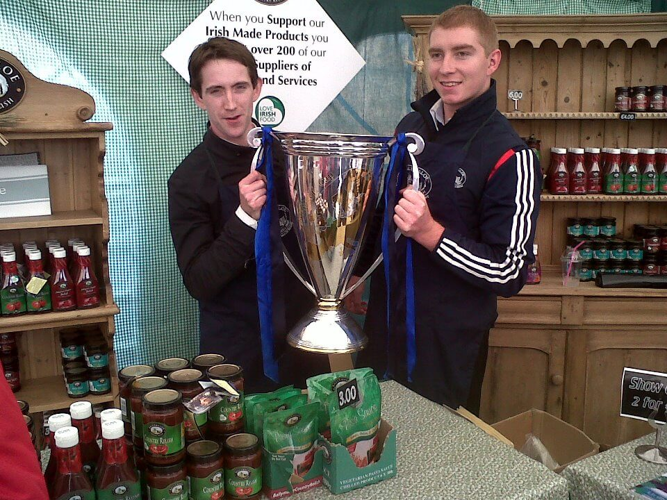 Heineken Cup at Ballymaloe Stand at Ploughing Championships