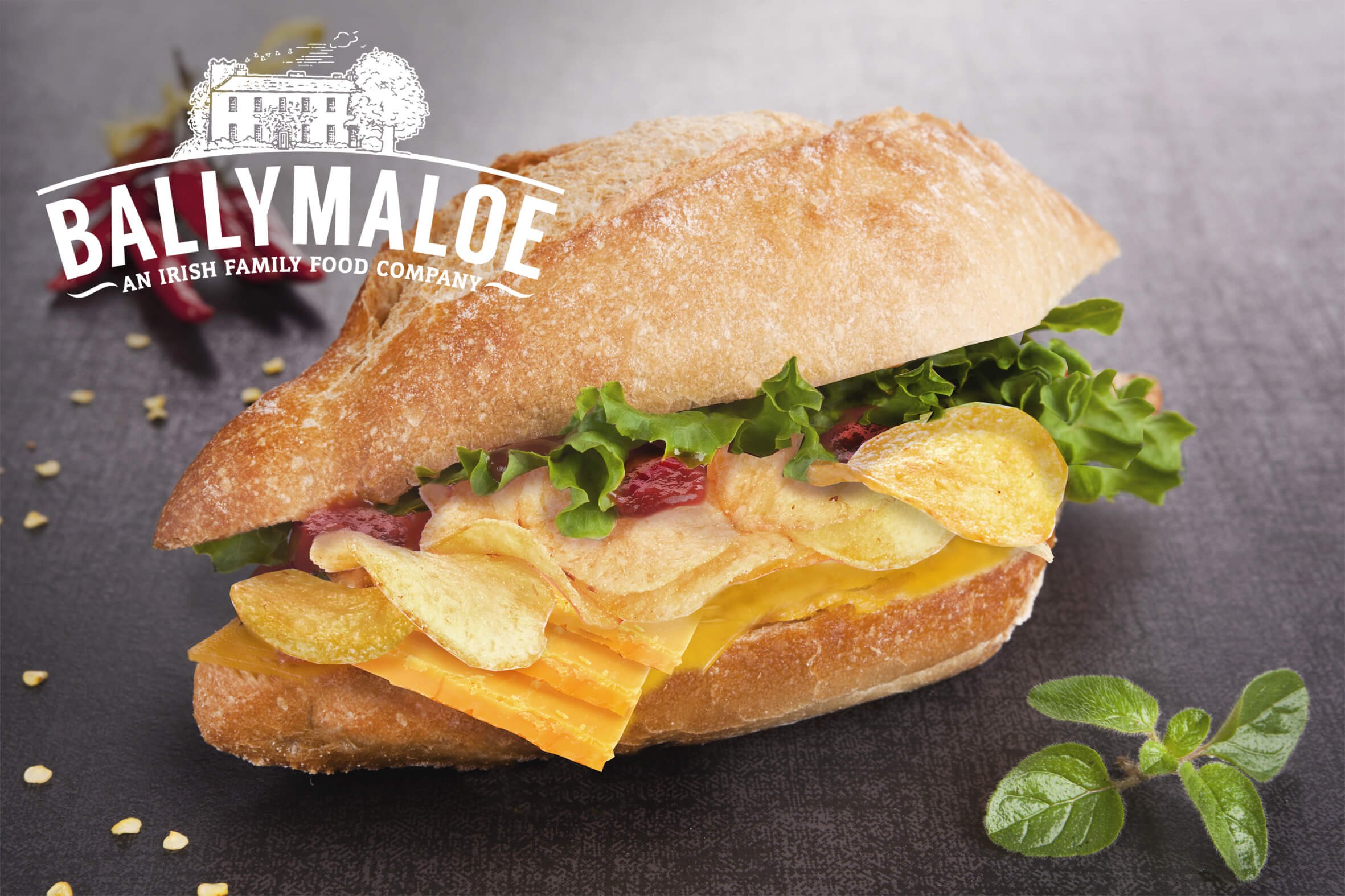 Ballymaloe Crisp Sandwich