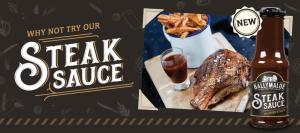 steak sauce shelf talker picture