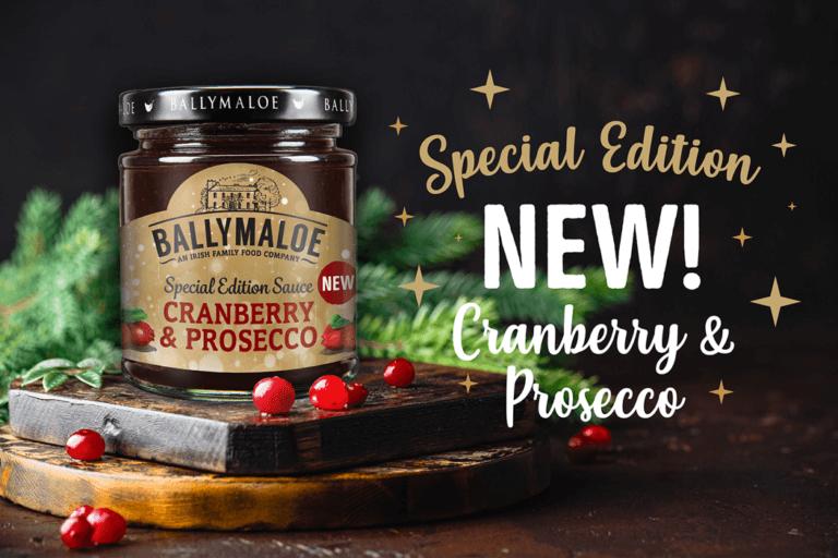 Ballymaloe Cranberry & Prosecco Sauce