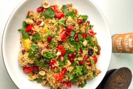 The Mediterranean Cous Cous Salad