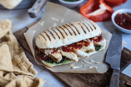 Chicken and Pesto Panini