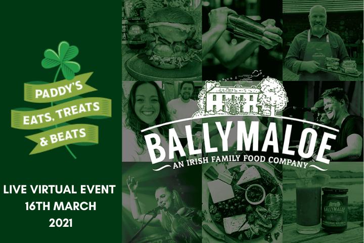 Paddy's Eats, Treats & Beats - St. Patrick's Day