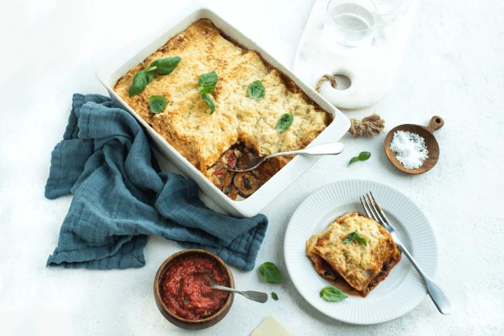 Fiery Vegetarian Lasagne