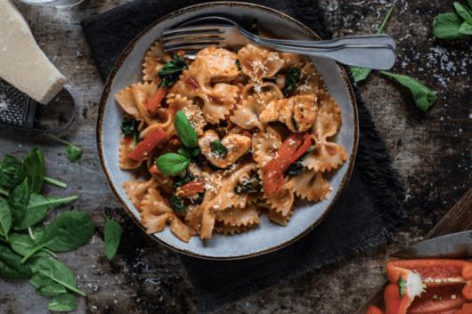 Chicken Pasta with Ballymaloe Italian Tomato Pasta Sauce